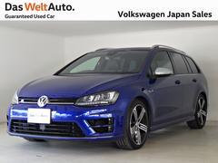 VW ゴルフRヴァリアントパノラマルーフPG ブラインドスポット搭載モデル 禁煙DWA