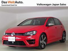 VW ゴルフRベースグレード 禁煙使用ワンオーナ 【オータムフェア特選車】