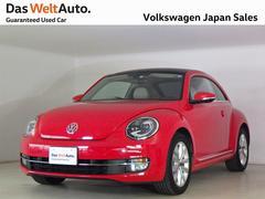VW ザ・ビートルデザイン完全受注生産ベージュレザーパノラマルーフPKG 禁煙