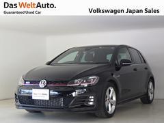 VW ゴルフGTIマイナーチェンジ後モデル ディスカバープロPKG 禁煙試乗車