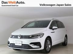 VW ゴルフトゥーランTSI−Rライン ディスカバープロPKG 禁煙使用ワンオーナ