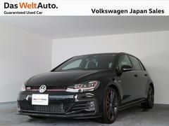 VW ゴルフGTIダイナミック 限定特別仕様 禁煙使用試乗用車輛 認定中古