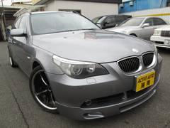 BMW525iツーリングハイラインパッケージ社外19AW マフラー