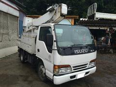 エルフトラック高所作業車 タダノ10.5m 電工仕様