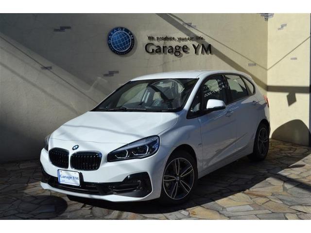BMW 218dアクティブツアラー スポーツ パーキングサポート