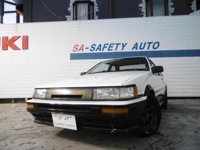 GT APEX RSワタナベ 柿本マフラー タイミングベルト交換済み