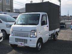 キャリイトラックKC 幌 ワンオーナー 記録簿 取説 車検32年5月 ETC