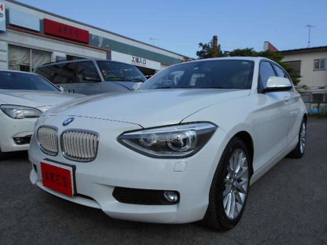 BMW 1シリーズ 116i ファッショニスタ ワンオーナー・特別仕様車・ベージュレザー・シートヒーター・専用インテリア・専用17インチアルミ・純正ナビ・バックカメラ・スマートキー・プッシュスタート・HID・ETC