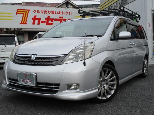 トヨタ プラタナ 4WD 1オーナー 電動スライドドア 社外HDD