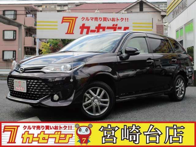 トヨタ 1.5GWxB 4WD 1オーナー ホワイトレザー LED