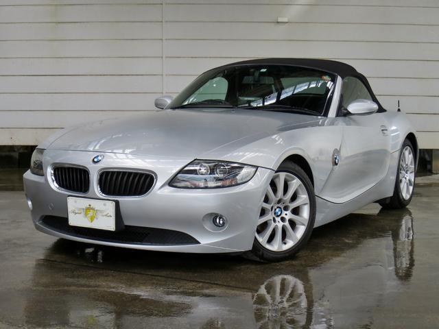 BMW 2.2i 電動オープン・記録簿・ナビ・ETC・HID