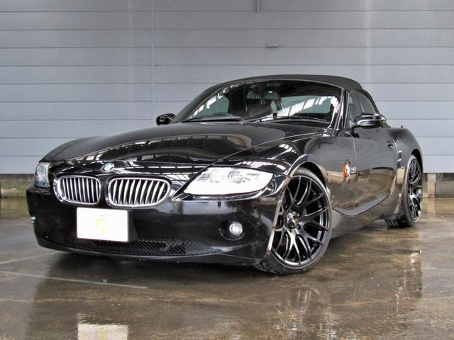 BMW Z4 3.0i ディーラー車・黒革・EMN GERMANY・ETC・電動オープン・シートヒーター メモリー付パワーシート・キーレス