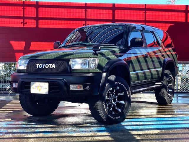 トヨタ ハイラックスサーフ SSR-X Vセレクション BFグッドリッチ・ビースト16AW リフトアップ 特別仕様車 カロッツェリアナビBluetooth フルセグ バックカメラ BATTLEZリフトアップサス