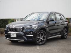 BMW X1sDrive 18i xライン黒革ハーフシート弊社テデモカー