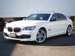 BMW740i Mスポーツ 20AWサンルーフ黒革ヘッドアップD