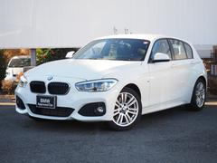 BMW118i Mスポーツ 弊社下取LEDクルコンBカメラ17AW