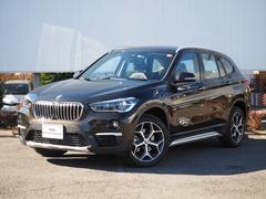 BMW X1xDrive 18d xライン 黒ハーフレザーCアクセス
