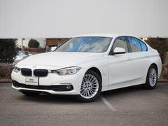 BMW330eラグジュアリー 弊社デモカー禁煙ACC黒革HDDナビ