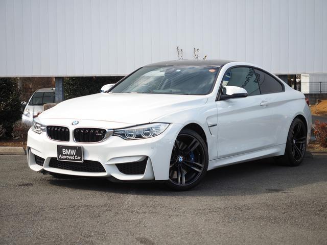 BMW M4クーペ 弊社下取1オーナー禁煙フルセグ黒革PシートPDC