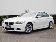 BMW523i Mスポーツパッケージ 弊社下取サンルーフ禁煙パドル