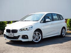 BMW218dグランツアラー Mスポーツ ヘッドアップD黒革シート