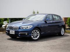 BMW118d スタイル ホワイトハーフレザーLED全方位センサー