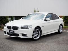 BMW528i Mスポーツパッケージ 弊社下取クルコン黒革フルセグ