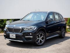BMW X1xDrive18d 弊社デモカー黒ハーフレザーシートヒーター
