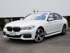 BMW740d xDrive Mスポーツ フルセグ黒革ACCパドル