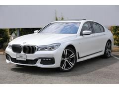 BMW740i Mスポーツ 茶革ACC全方位センサーSR20AW