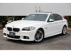 BMW528i Mスポーツ サンルーフ前席シートヒーター黒革ACC
