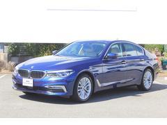 BMW523d ラグジュアリー弊社デモカー前車追従ベージュ革