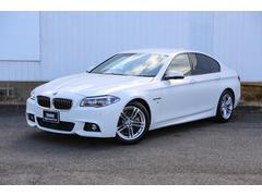 BMW528i Mスポーツ 弊社下取1オーナー黒革パドル自動追従