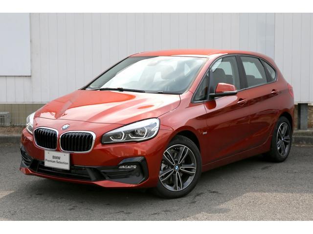 BMW 218dアクティブツアラー スポーツ デモカーLED黒半革