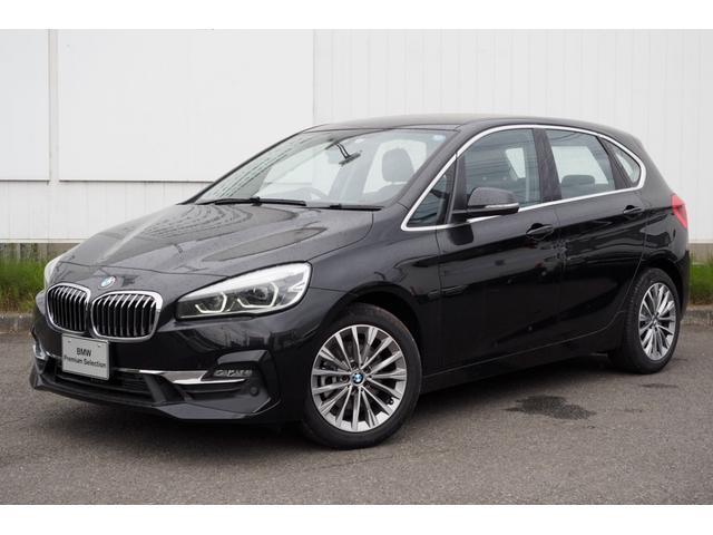 BMW 218dアクティブツアラー ラグジュアリー 弊社デモカー黒革