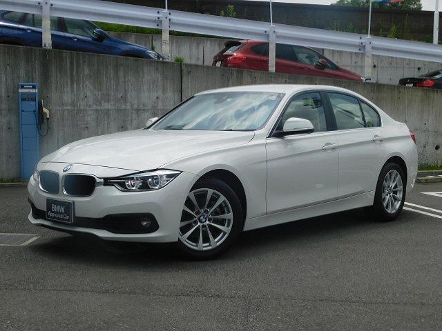BMW 318iクラシック 弊社下取ベージュ革1オーナー禁煙LED