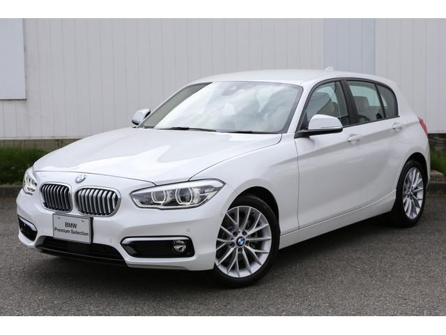 BMW 118i ファッショニスタ 弊社デモカーBカメラ前車追従