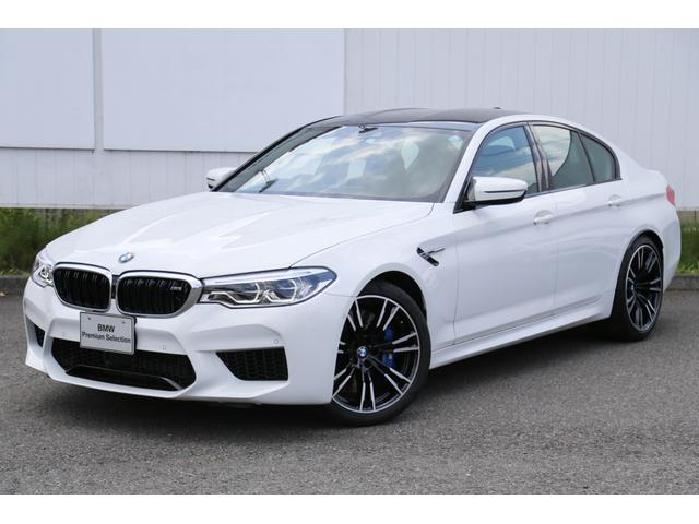 BMW M5 コンフォートP 弊社デモカー黒革パドルMサスペンション