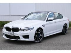 BMW M5M5 コンフォートP 弊社デモカー黒革パドルMサスペンション