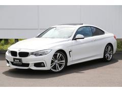 BMW435iクーペ Mスポーツ 左ハンドル下取ACC黒革パドル