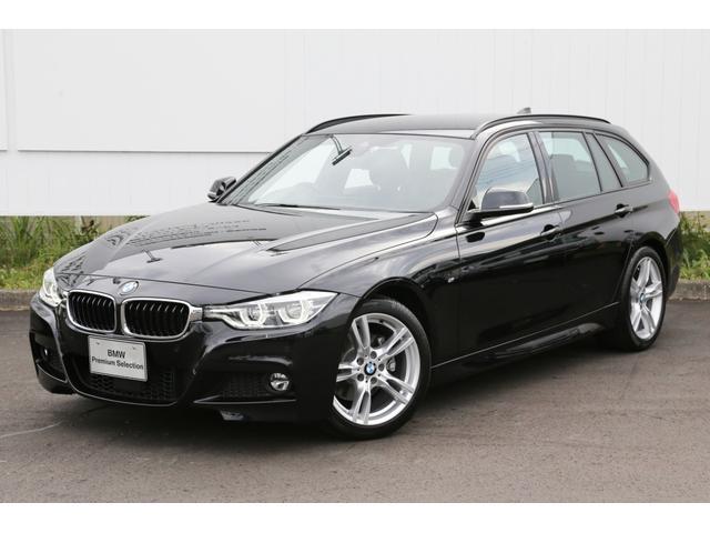 BMW 320i Mスポーツ デモカー黒革電動ACC前後センサー禁煙