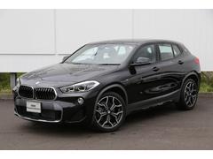 BMW X2xDrive18d MスポーツX デモカー茶革ACC衝突軽減