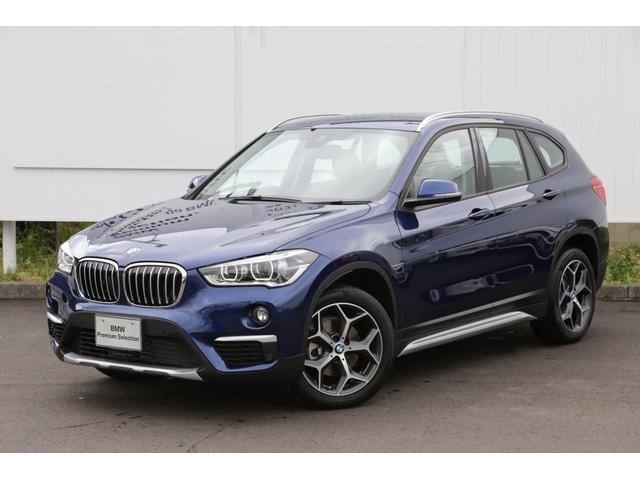 BMW xDrive18d xライン 黒革弊社デモACCパドルETC
