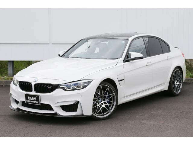 BMW M3セダン コンペティション 弊社下取ACC1オーナー禁煙