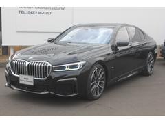 BMW740i Mスポーツ オイスター革サンルーフACCパドル