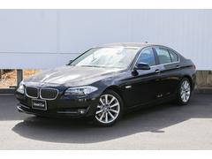 BMW528i 左ハンドル6気筒エンジン黒レザー弊社下取1オーナー