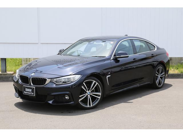 BMW 4シリーズ 420iグランクーペ Mスポーツ インスタイル 黒レザー