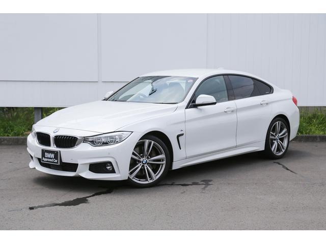 BMW 4シリーズ 435iグランクーペ Mスポーツ 〈紹介動画有〉 ブラックレザーシート LED アクティブクルーズコントロール 地デジ ヘッドアップディスプレイ 禁煙 1オーナー