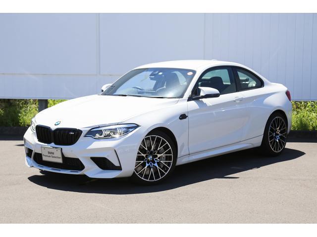 BMW M2 コンペティション 〈紹介動画有〉 ハーマンカードン 弊社デモカー ブラックレザーシート アダプティブLED 19インチホイール シートヒーター 禁煙