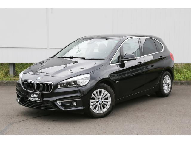 BMW 2シリーズ 218dアクティブツアラー ラグジュアリー コンフォートパッケージ 電動テールゲート ブラックレザーシート 地デジ シートヒーター 弊社下取 禁煙